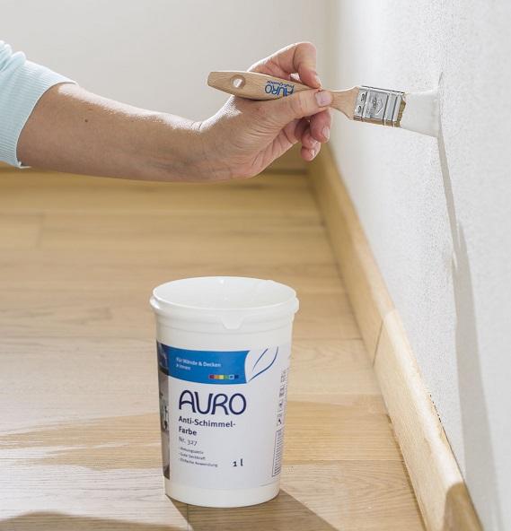ko test sagt 39 sehr gut 39 zur anti schlimmelfarbe von auro. Black Bedroom Furniture Sets. Home Design Ideas